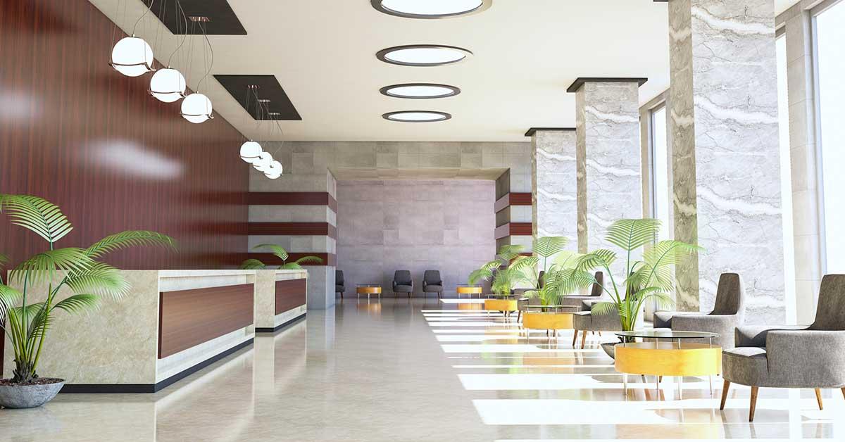Hotel-Décor-of-Lobby-Illustration